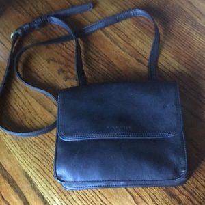 Nine West vintage leather organizer crossbody